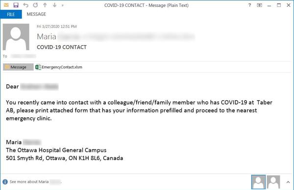 COVID-19 Scam