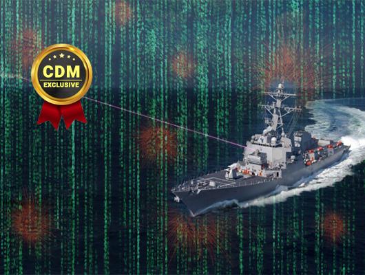 Cyber Attacks at Sea Blinding Warships